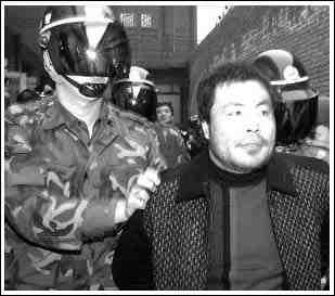 ...明被验明正身后押赴刑场.( ) -罪犯孙明昨被枪决