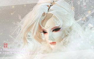 玉蝶碎梦-自制 雪啊雪,消融为哪般.原来想留住这一片冰心,是奢望了.
