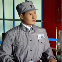 东江纵队领导人蜡像硅胶像