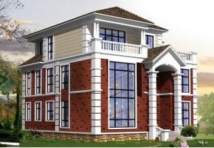三层实用小别墅房屋设计图纸,8x11米16万左右,编号 J32