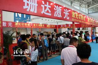 第十二届天津机博会在天津梅江会展中心开幕