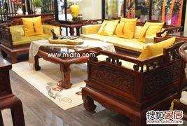 红酸枝沙发图片-家具