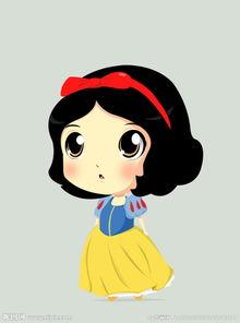 白雪公主q版卡通