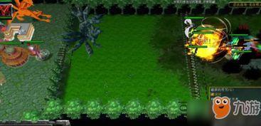 魔兽争霸3 忍法战场怎么玩 忍法战场鸣人人柱力分身流套路玩法详解