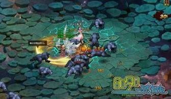 异空之界-玩家每天可以进入异界空间4次,每次都有11波怪物进攻,消灭了第一...