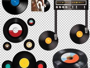 ...唱片PNG透明背景免扣素材图片下载png素材 其他
