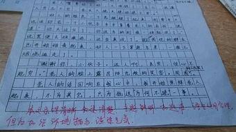 淄博市中考满分作文