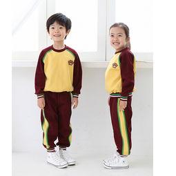 各具特色的小学生校服款式图片