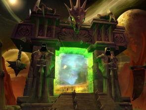 黑暗之门是地狱火半岛的标志之一-魔兽涨姿势 地狱火半岛曾是茂密丛林