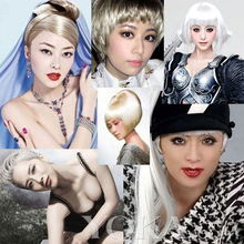 ...冰领衔中日女星白发照 雷人还是时尚