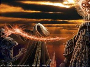 大法师克雷尔诡异的赤色烈焰瞬间可将天灾大军摧毁并使他们不能重生...