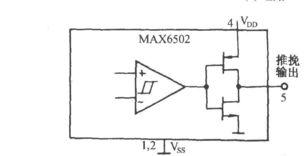 ...集成电路MAX6502的温度超限自动调温插座电路