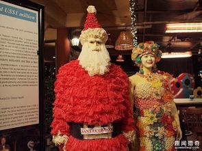泰国曼谷推出 避孕套 主题餐厅 餐具和各种装饰都与避孕套有关