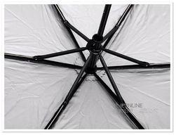 台湾彩虹屋晴雨伞 遮阳伞太阳伞 三折伞 顶级防紫外线降温伞 脚丫