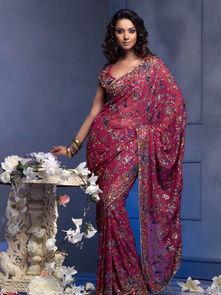 印度美女传统古典服饰