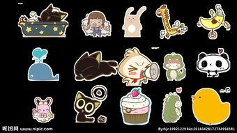 可爱卡通小动物小女孩蛋糕图片