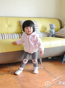 秀秀超萌的女宝宝外套,小宝真人秀哦