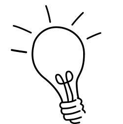 灯泡的简笔画怎么画?如何画灯泡呢?