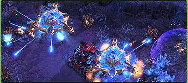 星际争霸2 复仇神器 神族母舰