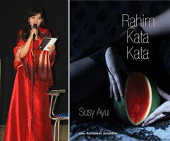 baca puisi di launching dan bedah bukuku Rahim Kata Kata