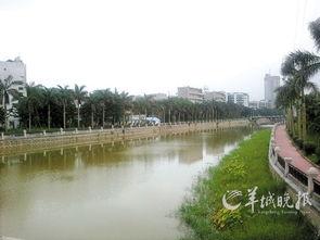 学院血红天-天沙河流经五邑大学成为校园胜景-江门借西江水托天沙河