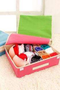 内衣袜子收纳整理盒