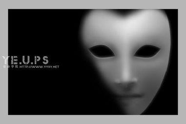 ...逼真黑白的橡皮面具-PS鼠绘教程 photoshop教程