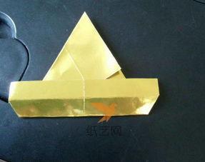 手工制作三角形折纸盒子礼物包装盒制作教程