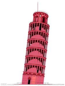 世界著名建筑矢量素材图片