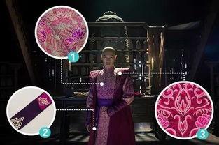 星光四封-粉紫套装   这套华服既是四爷的婚服,也是像若曦袒露心迹的衣服.长...