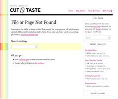 上一层的链接在错误信息页上,404页马上变得有用了.   有用的错误...