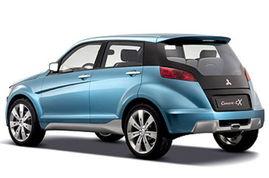 三菱cX概念车-小帕杰罗将引入 三菱cX全新SUV明年进口