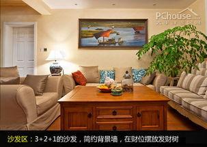 沙发背景墙设计-空间放大术 DIY达人改造100㎡实用3房