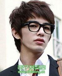 男生斜刘海发型图片 不只是帅一点