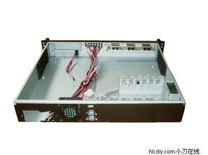 机箱可安装标准1U规格电源.   现在进行DIY组装使用这款机箱方案可...