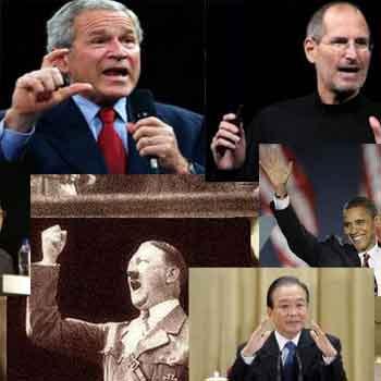 演讲中身体姿势 表情和手势的运用