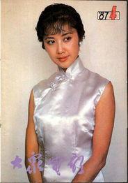 电影演员朱琳-80年代超美丽的封面女星