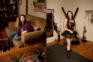 ...图为Dea在家中.-探访换妻俱乐部成员 家中挖地牢性虐邻居老婆