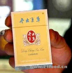 市场上出现的冬虫夏草香烟,每盒售价90元-疯狂炒作助长疯狂采挖 冬...