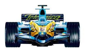 资料图片-北京车展展车 雷诺.R26赛车 F1