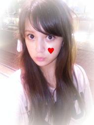 日本唯美的16岁混血美女校花 图