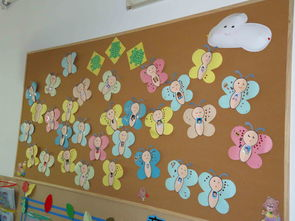 ...儿园教室的墙面布置 我最棒
