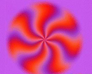 这是一张静止的图片, 你的心理压力越大,图片转动越快,-敢进入测...