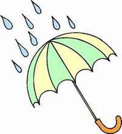 雨伞简笔画 雨伞画法