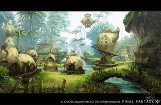 艾诺兹的命运 最终幻想14 重生 最新原画