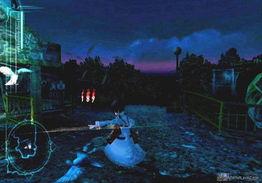 被设定为距现实世界并不十分遥远... 小镇荒废为废墟的幕后真相.