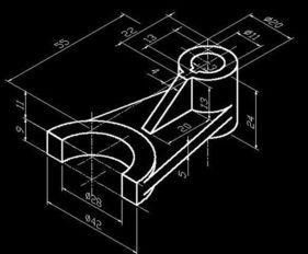 ...CAD建立简单三维模型教程