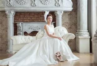 短发的婚纱照怎么拍好看 短发新娘结婚照图片