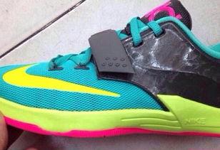杜兰特新款战靴 Nike KD7 实物曝光