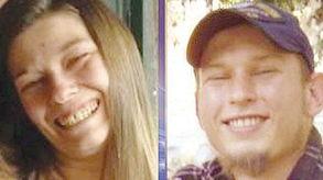 一个胶桶内发现女尸后报警.警方... 27岁的哈特涉嫌于本月初勒死33岁...